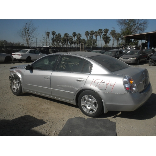 Used 2002 Nissan Altima Parts Car Silver With Gray Interior 4 Cyl