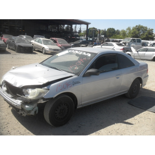 Used 2004 Honda Civic DX Parts Car   Silver With Black Interior, 4 Cylinder  Engine, Manual Transmission*
