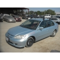 Used 2004 Honda Civic MX Parts Car - Blue with gray interior, 4 cylinder engine, Automatic transmission*