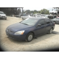 Used 2003 Honda Accord Parts Car - Blue with gray interior, 4 cylinder, automatic transmission*