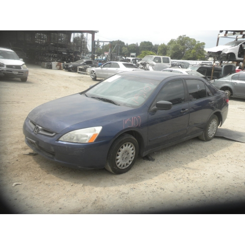 Used 2003 Honda Accord Parts Car   Blue With Gray Interior, 4 Cylinder,  Automatic Transmission*