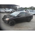 Used 2002 Honda Civic EX Parts Car - Black with black interior, 4 cylinder engine, Automatic transmission*