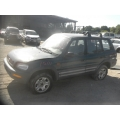 Used 1997 Toyota RAV4 Parts Car - Green with blue interior, 4 cylinder engine, manual transmission*