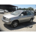 Used 1999 Lexus RX300 Parts Car - Silver with gray interior, 6 cylinder engine, Automatic transmission*