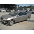 Used 2002 Honda Civic EX Parts Car - Gold with blue interior, 4 cylinder engine, manual transmission**