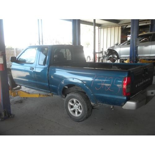 Used 2004 Nissan Frontier Parts Car Blue With Blue Interior 4 Cyl
