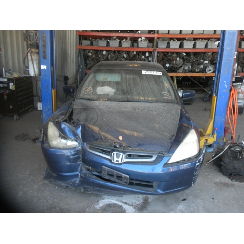 Used 2003 Honda Accord Parts Car Blue With Gray Interior 4 Cylinder Automatic Transmission