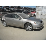 Used 2006 Nissan Maxima Parts Car - Gold with tan interior, 6 cyl engine, Automatic transmission*