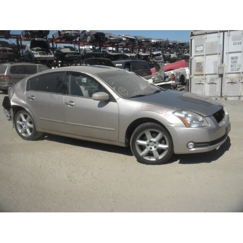 used 2006 nissan maxima parts car gold with tan interior. Black Bedroom Furniture Sets. Home Design Ideas