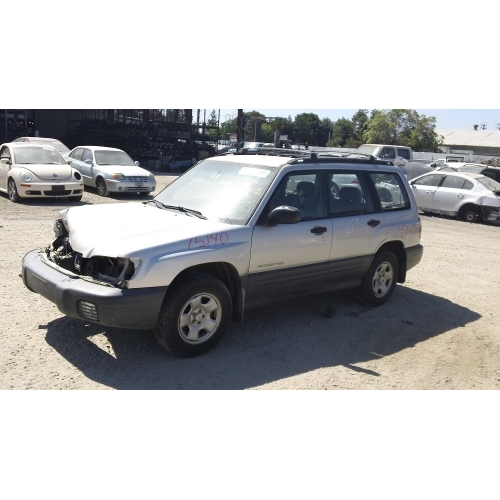 Used 2001 Subaru Forester Parts Car Silver With Gray Interior 6 Cylinder 5 Speed Transmission