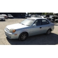 Used 2003 Hyundai Accent Parts Car - Blue with gray interior, 4 cylinder, Automatic transmission*