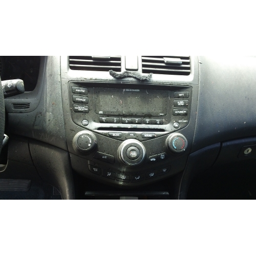 Used 2003 Honda Accord Parts Car Silver With Black Interior 6 Cylinder Automatic Transmission