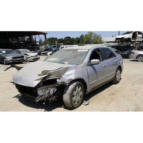 Used 2003 Honda Accord Parts Car   Silver With Black Interior, 6 Cylinder,  Automatic Transmission