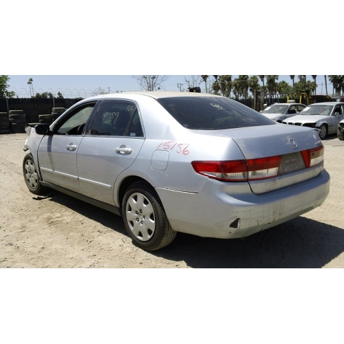 used 2003 honda accord parts car silver with black interior 6 cylinder automatic transmission. Black Bedroom Furniture Sets. Home Design Ideas