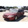 Used 2000 Honda Accord Parts Car - Red with Tan interior, 4 cylinder engine, automatic transmission*