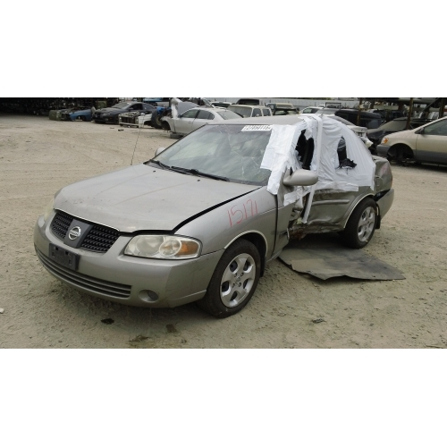 Used 2006 Nissan Sentra Parts Car Brown With Tan Interior 4 Cyl