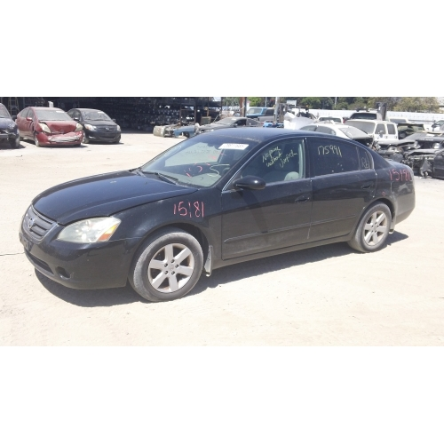 Used 2004 Nissan Altima Parts Car   Black With Gray Interior, 4 Cyl Engine,  Automatic Transmission*