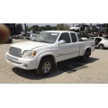 Used 2003 Toyota Tundra Parts Car - White with gray interior, 8 cylinder engine, Automatic transmission*