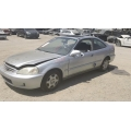 Used 2000 Honda Civic EX Parts Car - Silver with gray interior, 4 cylinder, automatic  transmission*