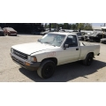 Used 1990 Toyota Pickup Parts Car - White with gray interior, 6 cylinder engine, manual transmission*