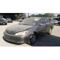 Used 2002 Toyota Camry Parts Car - Gray with gray interior, 4 cylinder engine, automatic transmission