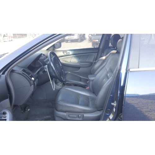 Used 2005 Honda Accord Ex Parts Car Blue With Black Interior 4 Cylinder Automatic Transmission