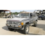 Used 1987 Toyota 4Runner Parts Car - Gray with gray interior, 4 cyl engine, Automatic transmission
