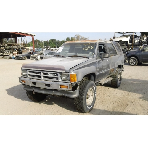 Used Toyota 4 Runner: Used 1987 Toyota 4Runner Parts Car