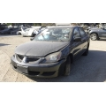 Used 2004 Mitsubishi Lancer Parts Car - Black with gray interior, 4 cylinder, automatic transmission