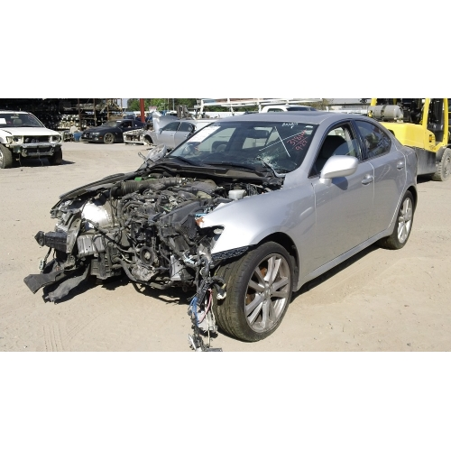 used 2007 lexus is250 parts car - silver with gray interior, 6
