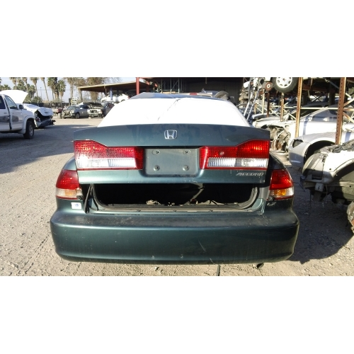 Superb Used 2002 Honda Accord Parts Car   Green With Brown Interior, 6 Cylinder  Engine, Automatic Transmission