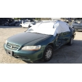 Used 2002 Honda Accord Parts Car - Green with brown interior, 6 cylinder engine, Automatic  transmission