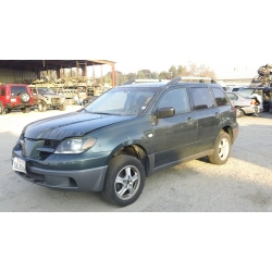 Used 2003 Mitsubishi Outlander Parts Car - Green with black interior, 4 cylinder, automatic transmission