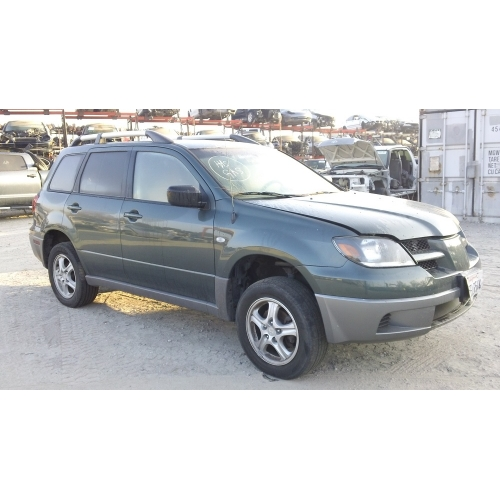 used 2003 mitsubishi outlander parts car green with. Black Bedroom Furniture Sets. Home Design Ideas