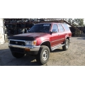 Used 1992 Toyota 4Runner Parts Car - Red with gray interior, 6 cyl engine, Automatic transmission
