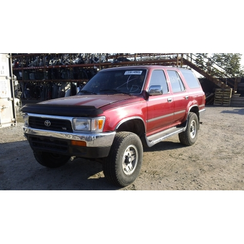 Used Toyota 4 Runner: Used 1992 Toyota 4Runner Parts Car