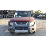 Used 2005 Honda Element Parts Car - Orange with gray interior, 4 cylinder engine, Automatic transmission