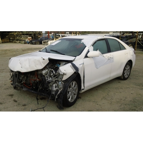 Used 2007 Toyota Camry Parts Car   White With Gray Interior, 4 Cylinder  Engine, Automatic Transmission