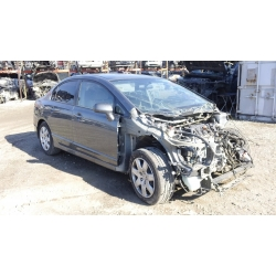 Used 2010 Honda Civic LX Parts Car - Gray with gray interior, 4 cylinder engine, Automatic transmission