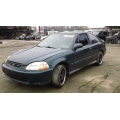 Used 1998 Honda Civic EX Parts Car - Green with gray interior, 4 cylinder engine, 5 speed transmission