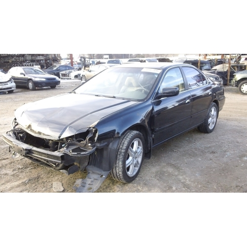 Used Acura TL Parts Car Black With Gray Interior Cylinder - Acura tl interior parts