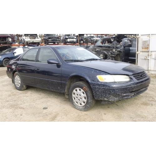 Used 1998 Toyota Camry Parts Car Blue With Gray Interior 4 Cylinder Engine Automatic