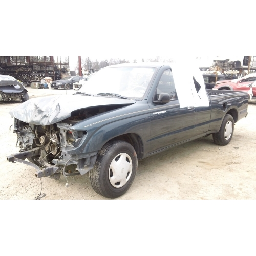 Used 1998 Toyota Tacoma Parts Car Green With Brown Interior 6 Cyl Engine Automatic Transmission