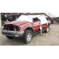 Used 2002 Toyota Tacoma Parts Car - Red with gray interior, 4 cyl engine, Automatic transmission