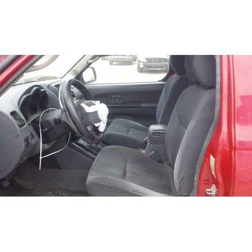 Used 2004 Nissan Frontier Parts Car Red With Gray Interior 4 Cyl Engine Automatic Transmission