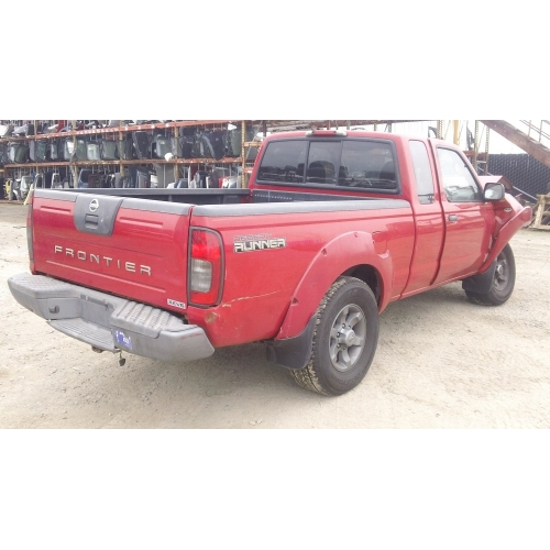 Nissan Frontier Transmission: Used 2004 Nissan Frontier Parts Car