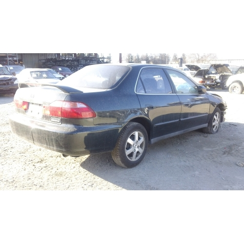 Used 2000 Honda Accord Ex Parts Car Green With Brown Interior 4 Cylinder Engine Automatic