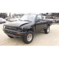 Used 1995 Toyota Pickup Parts Car - Black with gray interior, 22RE engine, 5 speed transmission