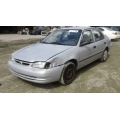 Used 1998 Toyota Corolla Parts Car - Silver with gray interior, 4 cylinder engine, Automatic transmission