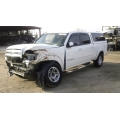 Used 2006 Toyota Tundra Parts Car - White with Gray interior, 8 cylinder engine, Automatic transmission